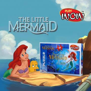 Play Wow The Little Mermaid Puzzle For girls